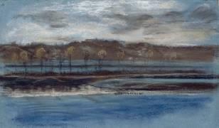 La Nuit ou L'Inondation (Eugène Delacroix) - Muzeo.com
