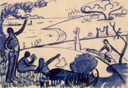 Au Temps d'Harmonie (Paul Signac) - Muzeo.com