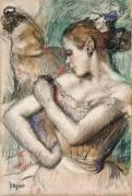 Dancers (Degas Edgar) - Muzeo.com