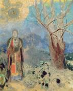 Le Bouddha (Odilon Redon) - Muzeo.com