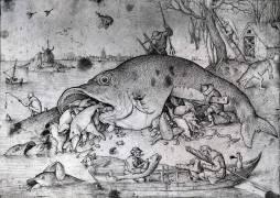 Big fishes eat small ones (Pieter Brueghel the Elder) - Muzeo.com