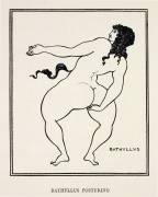 Bathyllus Posturing (Aubrey Beardsley) - Muzeo.com