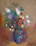 Bouquet of Flowers (Odilon Redon) - Muzeo.com
