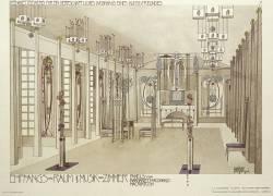Design for a Music Room (Charles Rennie Mackintosh) - Muzeo.com