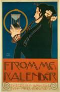 Frommes Kalender (Koloman Moser) - Muzeo.com