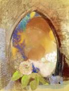 Portrait with Flowers (Odilon Redon) - Muzeo.com