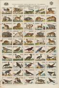 Alphabets d'animaux et d'oiseaux (anonyme) - Muzeo.com