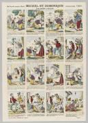Michel et Dominique. Les petits voleurs (anonyme) - Muzeo.com