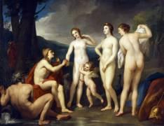 Le Jugement de Pâris (Anton Raphael Mengs) - Muzeo.com