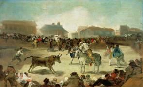 A Village Bullfight (Francisco De Goya) - Muzeo.com