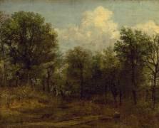 A Wood (John Constable) - Muzeo.com