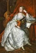 Ann Ford, later Mrs Philip Thicknesse (Thomas Gainsborough) - Muzeo.com