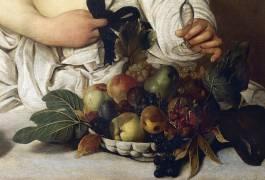 Bacchus (Detail) (Caravaggio) - Muzeo.com