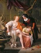 Bathsheba after the Bath (Jan Steen) - Muzeo.com