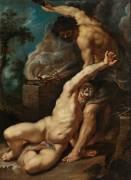 Cain Slaying Abel (Pierre Paul Rubens) - Muzeo.com