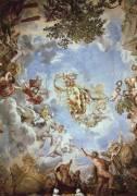 Frescoes on the ceiling in the Hall of Mars (Pietro da Cortona) - Muzeo.com