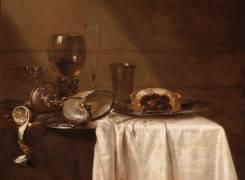 La tourte au cassis (Willem Claesz Heda) - Muzeo.com