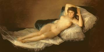 The Naked Maja (Francisco De Goya) - Muzeo.com