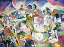 Cubist Cityscape (Aristarkh Lentulov) - Muzeo.com