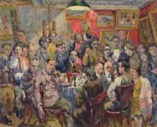 Moscow Artists (Aristarkh Lentulov) - Muzeo.com