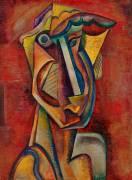 Poetess (Vladimir Baranov-Rossiné) - Muzeo.com