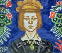 Self Portrait (Olga Rozanova) - Muzeo.com