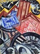 The Factory and the Bridge (Olga Rozanova) - Muzeo.com
