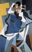 Figure de femme (Juan Gris) - Muzeo.com