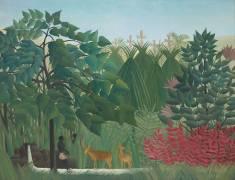 La Cascade (Henri Rousseau) - Muzeo.com
