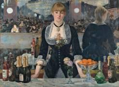 A Bar at the Folies-Bergere (Edouard Manet) - Muzeo.com