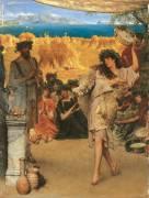 A Harvest Festival (Lawrence Alma-Tadema) - Muzeo.com