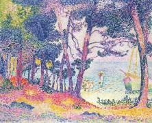 A Pine Grove (Henri-Edmond Cross) - Muzeo.com