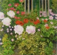 A rose hedge (Koloman Moser) - Muzeo.com