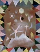 Above the Mountain Peaks (Paul Klee) - Muzeo.com