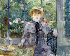 After Breakfast (Berthe Morisot) - Muzeo.com