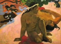 Aha oe Feii? (Are You Jealous?) (Paul Gauguin) - Muzeo.com