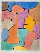 Alpine precipice (Paul Klee) - Muzeo.com