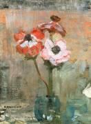 Anemones in a Vase (Piet Mondrian) - Muzeo.com