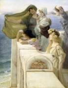 At Aphrodite's Cradle (Lawrence Alma-Tadema) - Muzeo.com