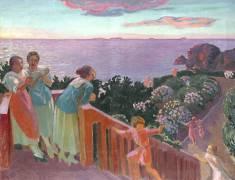 Balcon a Silencio (Maurice Denis) - Muzeo.com