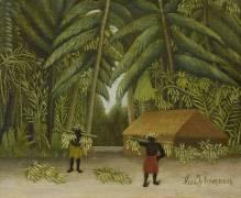 Banana Harvest (Henri Rousseau) - Muzeo.com