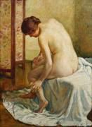 Bather (Theo van Rysselberghe) - Muzeo.com