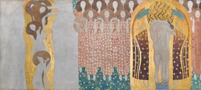 Beethoven frieze (Gustav Klimt) - Muzeo.com