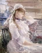 Behind the Blinds (Berthe Morisot) - Muzeo.com