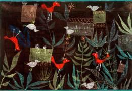 Birds in the garden (Paul Klee) - Muzeo.com