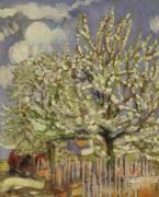 Blossoming Trees (Maurice Denis) - Muzeo.com