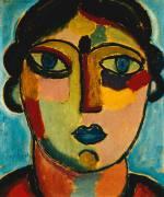 Blue Mouth (Alexej von Jawlensky) - Muzeo.com
