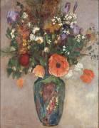 Bouquet de Fleurs dans un Vase (Odilon Redon) - Muzeo.com