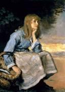 Caller Herrin' (John Everett Millais) - Muzeo.com