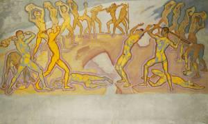 Clash of the Titans (Koloman Moser) - Muzeo.com